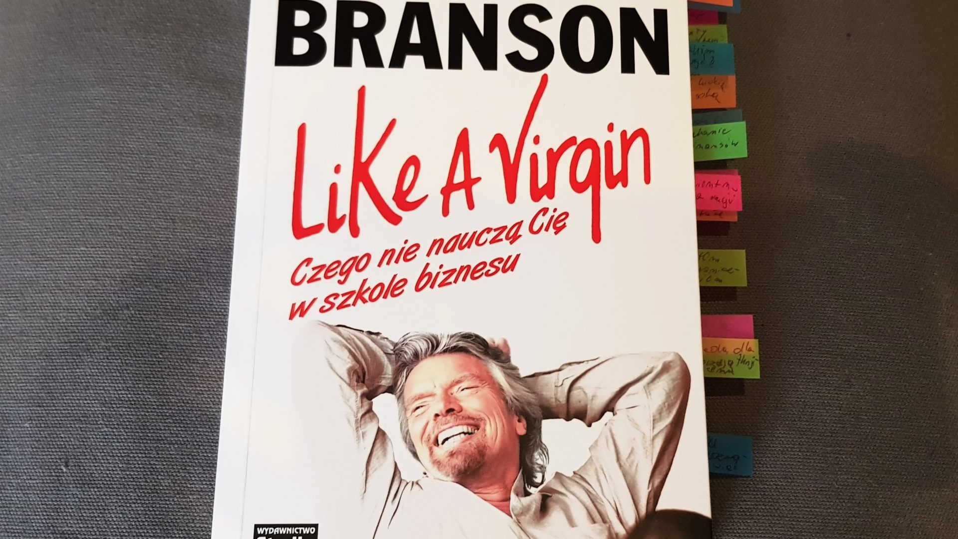 """Like A Virgin"" - Richard Branson"