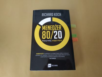 """Menedżer 80/20"" - Richard Koch"