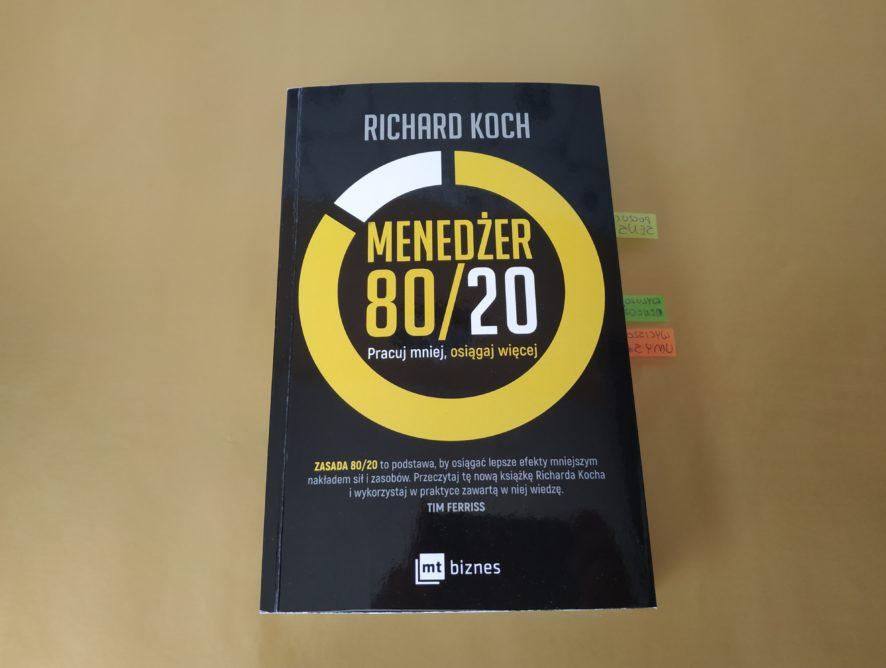 """""""Menedżer 80/20"""" - Richard Koch"""