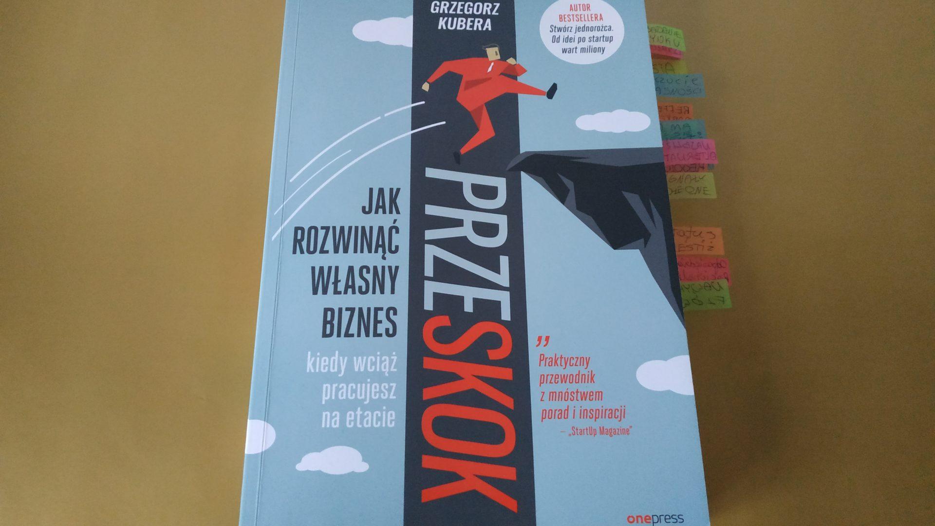 """""""Przeskok"""" - Grzegorz Kubera"""