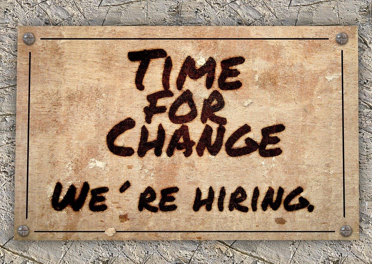 Dlaczego warto zmieniać miejsce pracy!?
