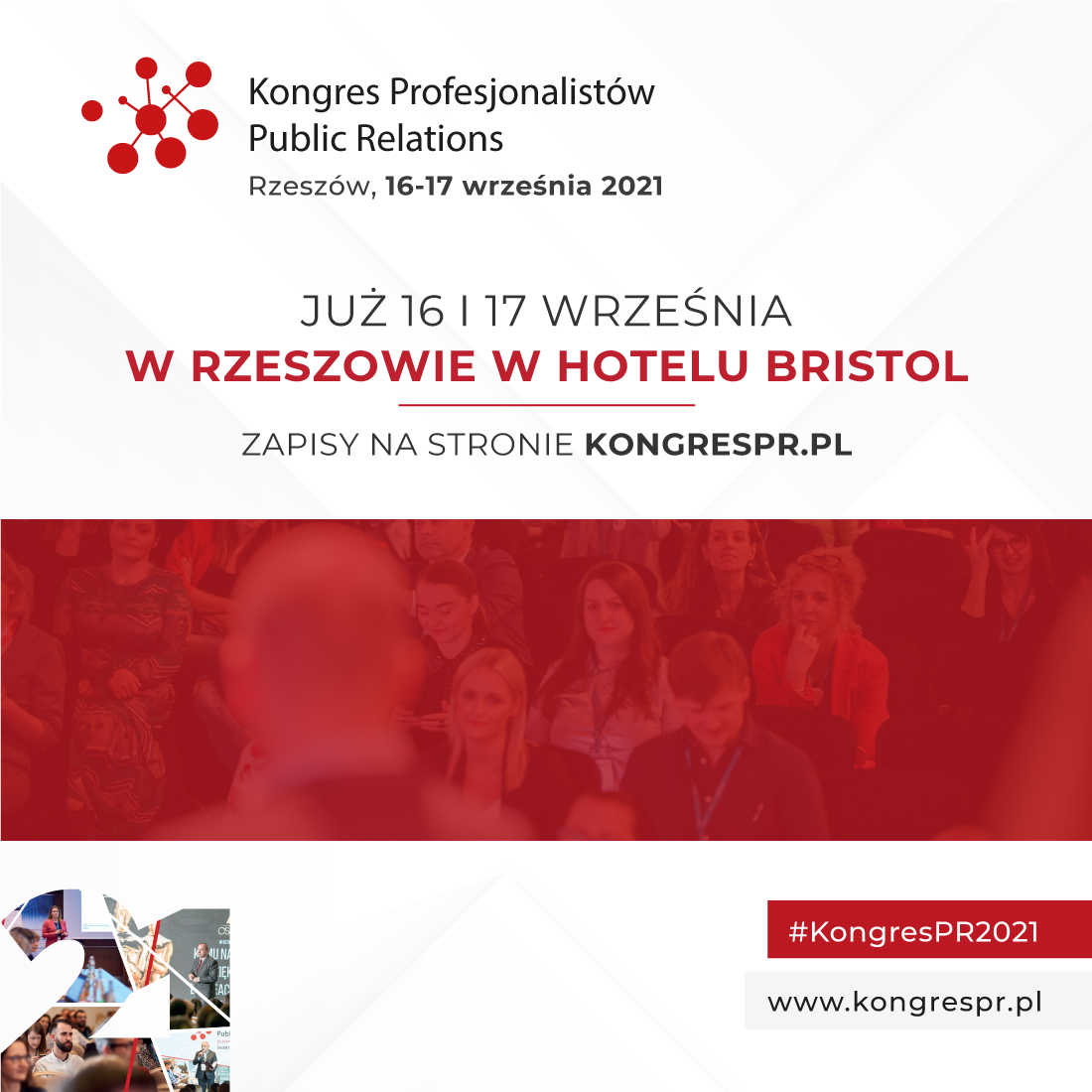 KONGRES PROFESJONALISTÓW PUBLIC RELATIONS 16 - 17 września 2021